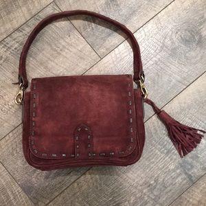 EUC, like new Brampton London leather shoulder bag